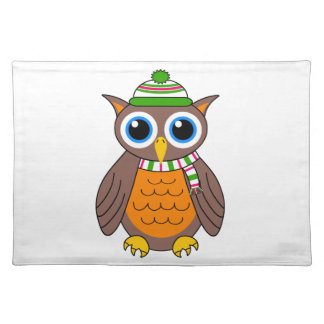 Wilbert the Owl Placemat