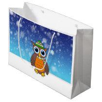 Wilbert's First Snowfall Large Gift Bag