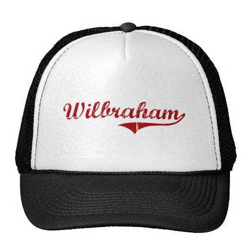 Wilbraham Massachusetts Classic Design Hat