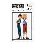 Wilbur and Lewis Disney Stamp