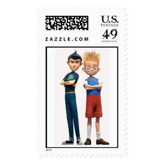 Wilbur and Lewis Disney Stamps