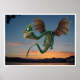 Wilbur el dragón posters
