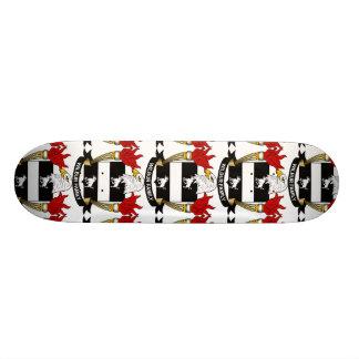 Wilbur Family Crest Skateboard