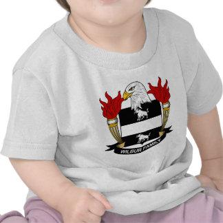 Wilbur Family Crest Tshirts