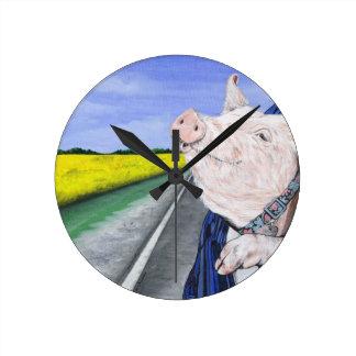 Wilbur Round Clock