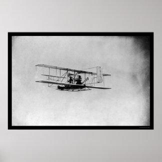 Wilbur Wright en vuelo 1909 Impresiones