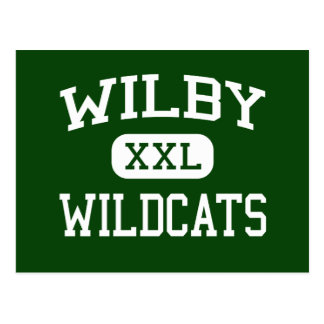 Wilby - Wildcats - High - Waterbury Connecticut Postcards