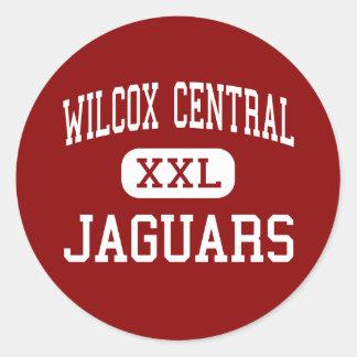 Wilcox Central - Jaguars - High - Camden Alabama Round Sticker