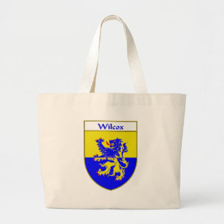 Wilcox Coat of Arms/Family Crest Large Tote Bag