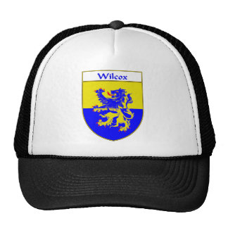 Wilcox Coat of Arms/Family Crest Trucker Hat
