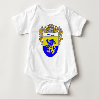 Wilcox Coat of Arms (Mantled) Baby Bodysuit