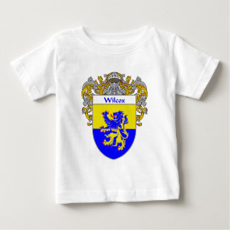 Wilcox Coat of Arms (Mantled) Baby T-Shirt