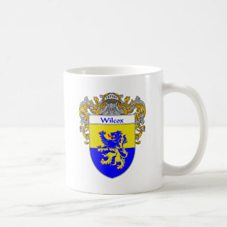 Wilcox Coat of Arms (Mantled) Coffee Mug