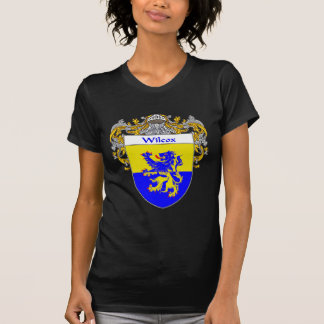 Wilcox Coat of Arms (Mantled) T-Shirt
