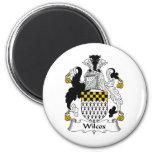 Wilcox Family Crest Fridge Magnets