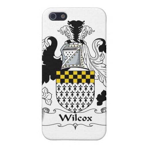 Wilcox Family Crest iPhone 5 Cover