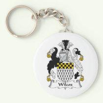 Wilcox Family Crest Keychain