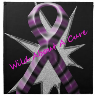Wild About A Cure Napkin