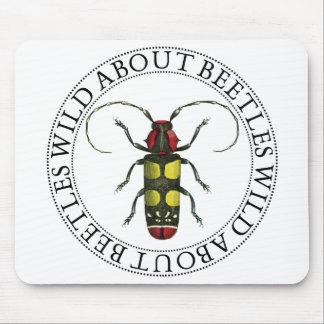 Wild About Beetles Mouse Pads