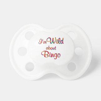 Wild About Bingo BooginHead Pacifier