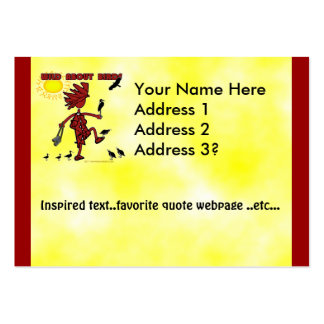 Wild About Bird Gifts Large Business Card