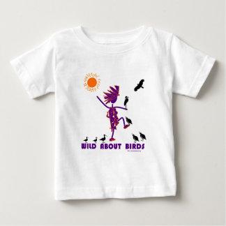 Wild About Birds Baby T-Shirt