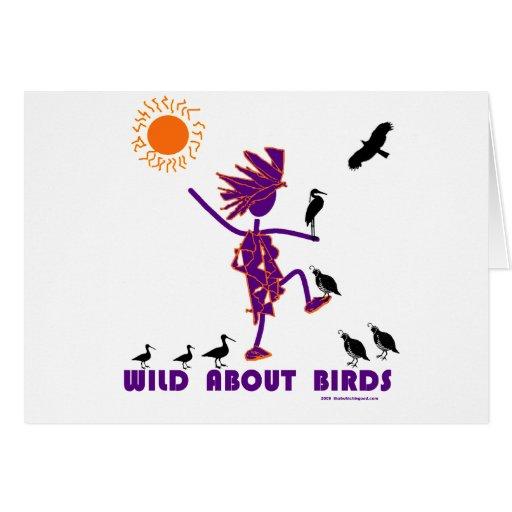 Wild About Birds Card