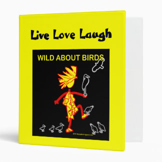 Wild About Birds Designs 3 Ring Binder