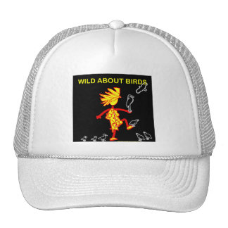 Wild About Birds Designs Trucker Hat