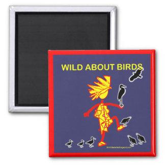 Wild About Birds Designs Magnet