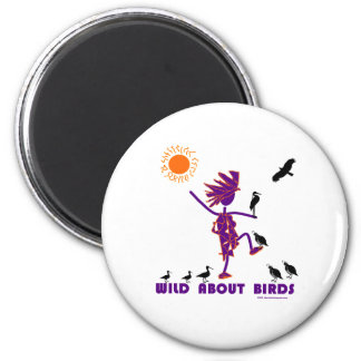 Wild About Birds Magnets