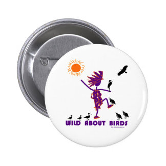 Wild About Birds Pin