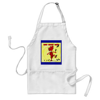 Wild About Birds Red Design Adult Apron