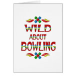 Wild About Bowling Card