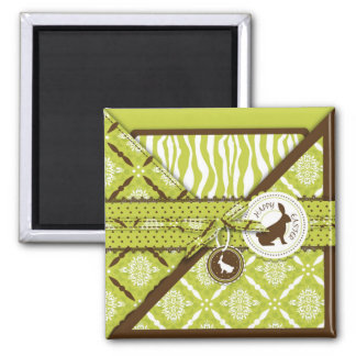 Wild About Bunnies Magnet 2 S