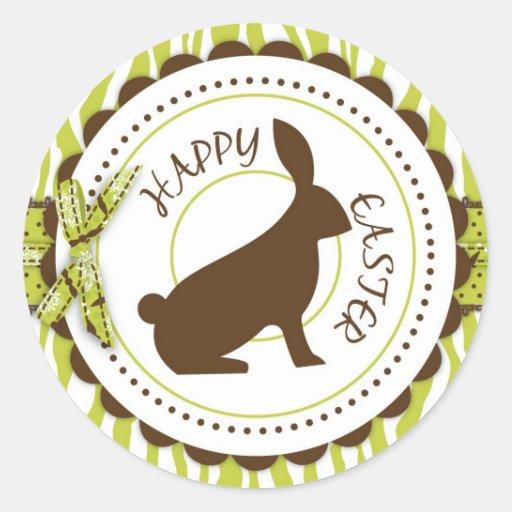 Wild About Bunnies Sticker A R