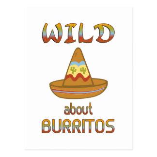 Wild About Burritos Postcard