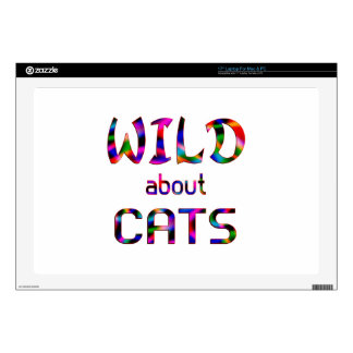 Wild About Cats Laptop Skin