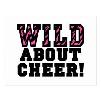 Wild About Cheer Postcard