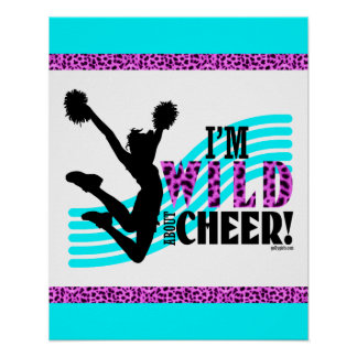 Wild About Cheer Poster