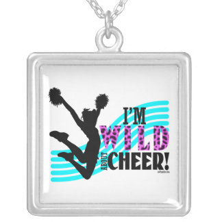 Wild About Cheer Silver Plated Necklace