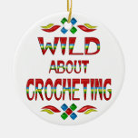 Wild About Crocheting Ornaments