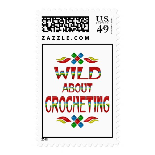 Wild About Crocheting Postage Stamps