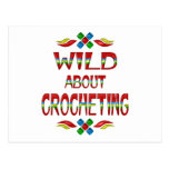 Wild About Crocheting Postcards
