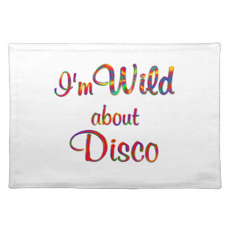 Wild About Disco Cloth Place Mat