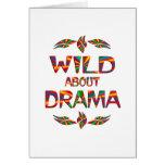 Wild About Drama Card