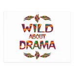 Wild About Drama Postcard