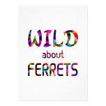 Wild About Ferrets Invites