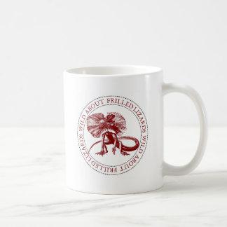 Wild About Frilled Lizards Coffee Mug