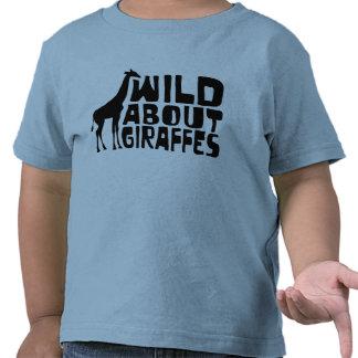 Wild About Giraffes Tshirt
